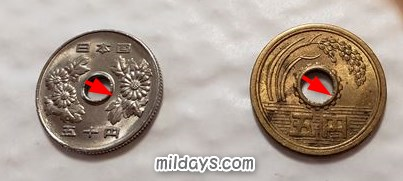 5円&50円玉