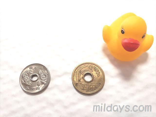 5円玉&50円玉