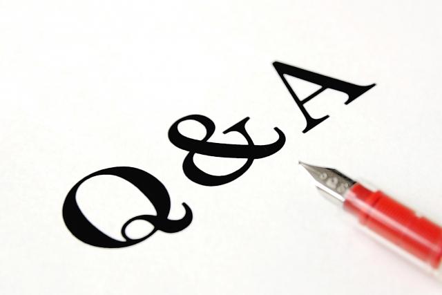 Q&Ąの文字