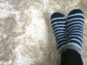 ふわもこ靴下